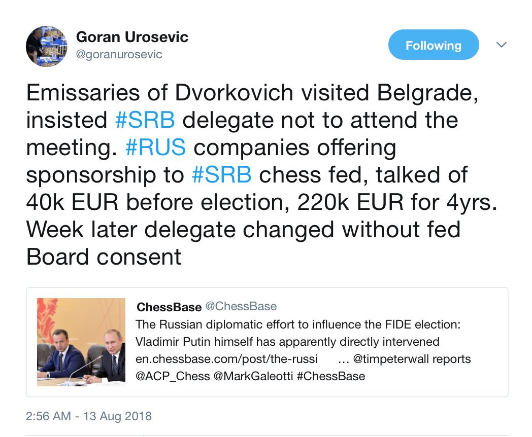 Integrity vs Fake news – FIDE Forward